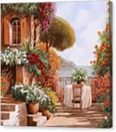 Una Sedia In Attesa Canvas Print