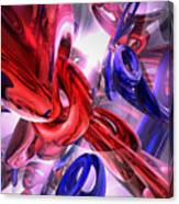 Unchained Abstract Canvas Print