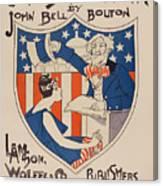 Uncle Sam's Church Canvas Print