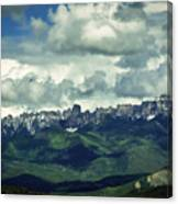 Uncompahgre Colorado Alpine Canvas Print
