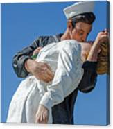 Unconditional Surrender 2 Canvas Print