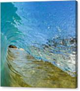 Under Breaking Wave Canvas Print