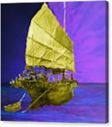 Under Golden Sails Canvas Print
