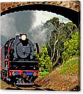 Under Steam Canvas Print