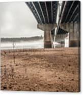 Under The Bridge 3 Canvas Print