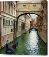 Under The Bridge Of Sighs Canvas Print