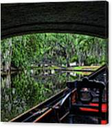 Under The Bridge Painted Canvas Print