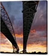 Under The Bridge Canvas Print