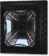 Under The Eiffel Canvas Print