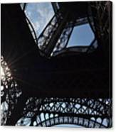 Under The Eiffel II Canvas Print