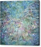 Under The Garden Canvas Print