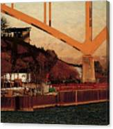 Under The Hoan Canvas Print