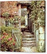 Under The Old Malthouse Hambledon Surrey Canvas Print