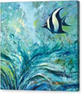 Under The Sea 9 Canvas Print