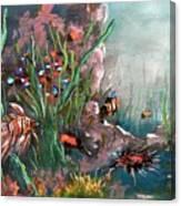 Under The Sea Colors Canvas Print