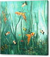 under the sea I Canvas Print
