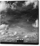 Under The Sky Canvas Print