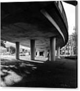 Under The Viaduct C Urban View Canvas Print