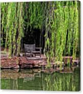 Under The Willows 7749 Canvas Print
