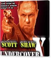 Undercover X Canvas Print