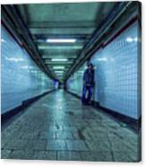 Underground Inhabitants Canvas Print
