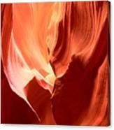 Underground Pastel Flames Canvas Print