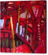 Underneath The Bridges Canvas Print