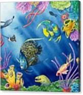 Undersea Garden Canvas Print