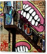 Underteeth The Stairs 2 Canvas Print