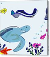 Underwater 2 Canvas Print