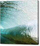 Underwater Barrel Canvas Print