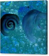 Underwater Eye Canvas Print