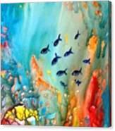 Underwater Magic Canvas Print