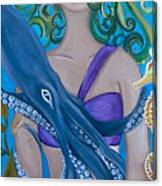 Underwater Mermaid Canvas Print