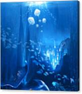 Underwater World Canvas Print
