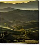 Undulating Light Canvas Print