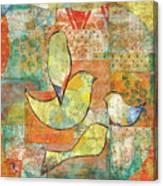 Unfinished Bird Canvas Print