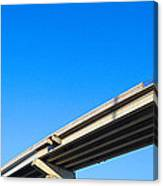 Unfinished Freeway Ramp Canvas Print