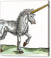 Unicorn, 1607 Canvas Print