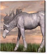 Unicorn And Chipmunk Canvas Print