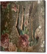 Unicorn Angel Canvas Print