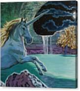 Unicorn Lake Canvas Print