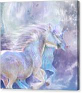 Unicorn Soulmates Canvas Print