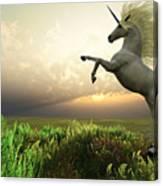 Unicorn Stag Canvas Print