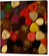 Unidentifiable Picks Canvas Print