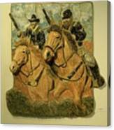 Union Cavalry Canvas Print