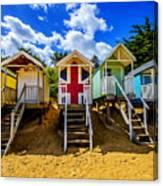 Union Jack Beach Hut 2 Canvas Print