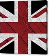 Union Jack Flag Deco Swing Canvas Print