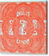 Union  Orange Canvas Print