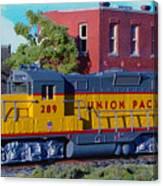 Union Pacific 289 Canvas Print